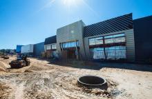 Противопожарные перегородки производства Inteco construction пользуются популярностью у строителей больших торговых центров
