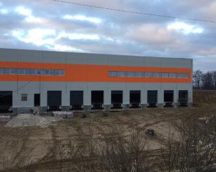 Из сэндвич-панелей INTECO Construction строится производственный цех (Львовская обл.)